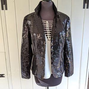 Cachet sequin jacket